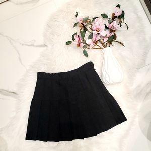 American Apparel Gabardine Tennis Skirt
